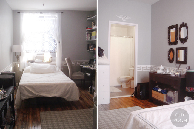 The making of my bedroom plus video tour jen chu design for Amenager chambre 9m2